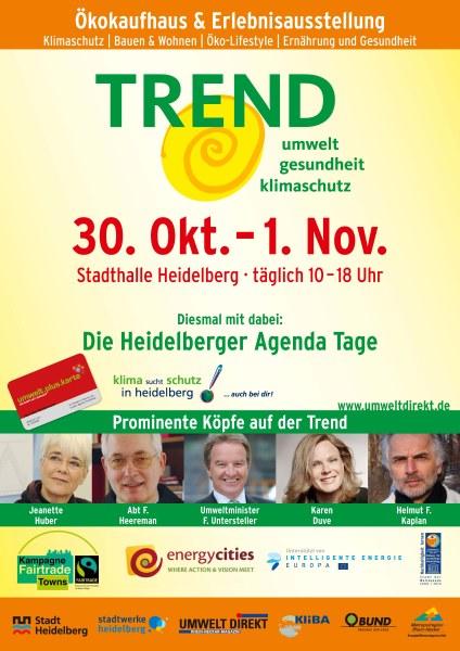 Plakat Umweltmesse 'Trend' 2011